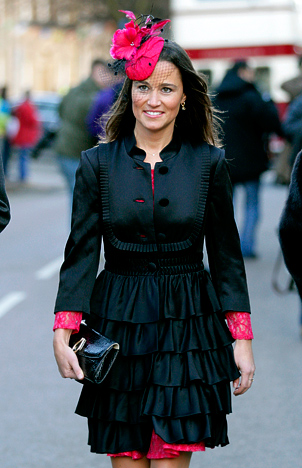 If you follow fashion trends you might still be thinking that a fascinator  is over the top – best for Pippa Middleton and her single 5470d85c245